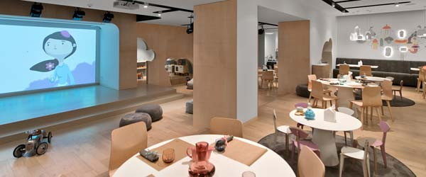 Teatar, igraonica i restoran u jednom prostoru