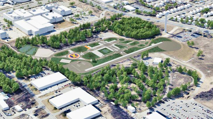 Gradi se lažni grad za testiranje vozila bez vozača