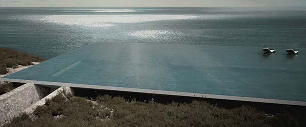 Nevidljiva kuća na grčkom ostrvu Tinos