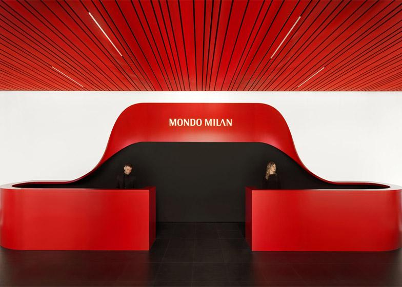 Novo sedište AC Milana u bojama kluba