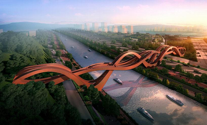 Most inspirisan kineskom narodnom umetnošću
