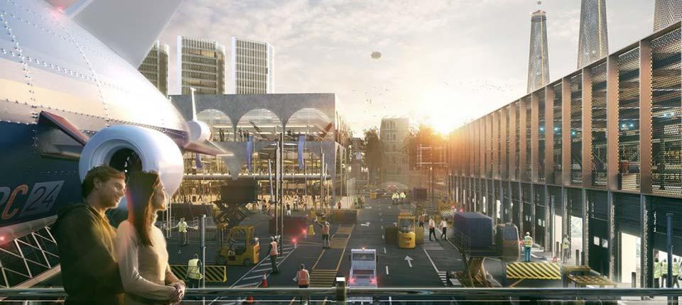 Tri vizije budućnosti aerodroma Heathrow