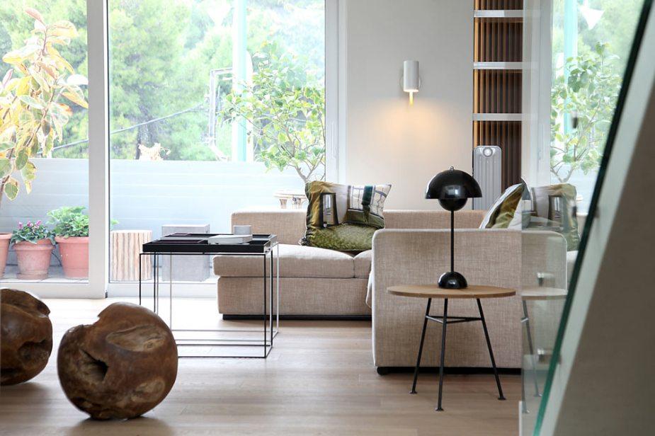 Stan u Atini inspirisan minimalizmom