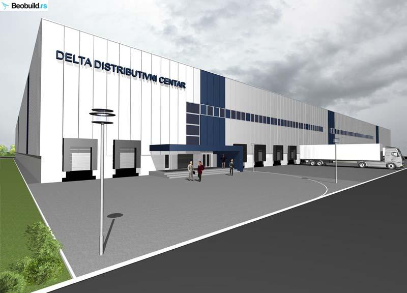Delta zida distributivni centar u Staroj Pazovi