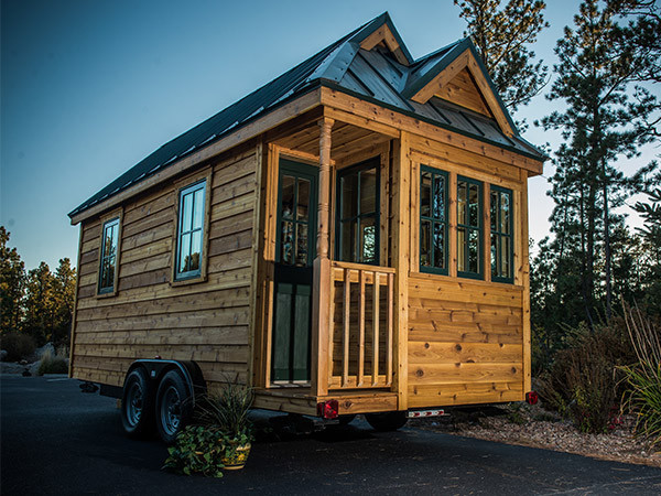Mobilni dom: 17 kvadratnih metara na točkovima