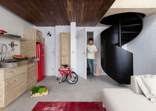 Mali stan s puno prostora za skladištenje