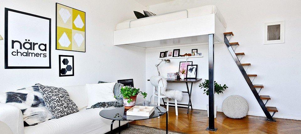 Mali stan s velikim idejama: Skladnih 32 kvadrata