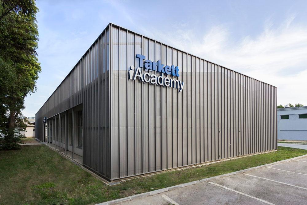 Tarkett Akademija: Izložbeni prostor i trening centar