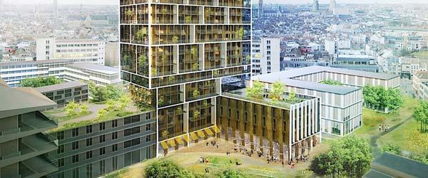Zgrada u Antverpu koja podstiče druženje
