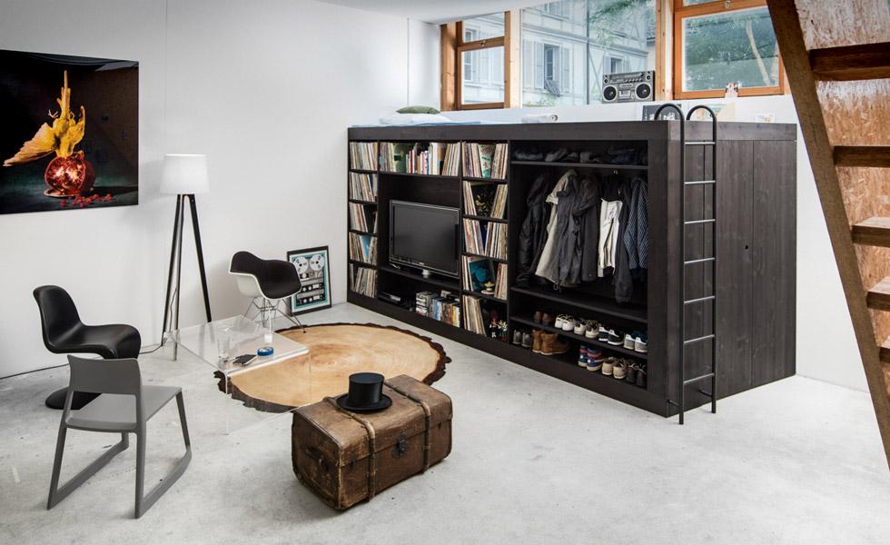 Kocka koja malim stanovima štedi prostor