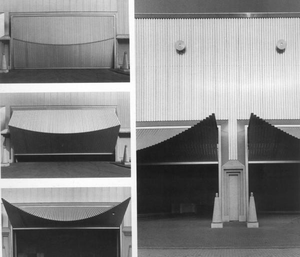 Inspiracija za dizajn roletni bila je u čuvenim Kalatravinim garažnim vratima