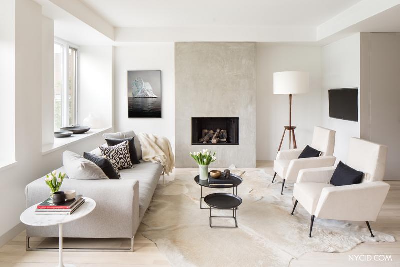 Šik & stil: Beli zidovi luksuznog enterijera