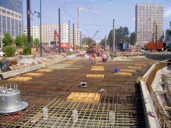 Železnička pruga, Magdeburg, Nemačka, 2005.