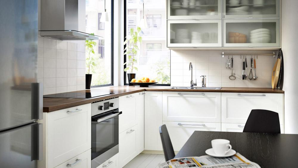 Ideje za crne sive i bele kuhinje for Ikea keukens 2015