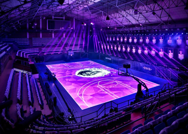 Nike napravio košarkaški teren od LED ekrana