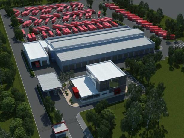 Niš-ekspres u novom kompleksu površine 37.000 kvadrata