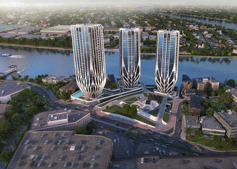 390 miliona dolara za tri nove stambene kule Zahe Hadid