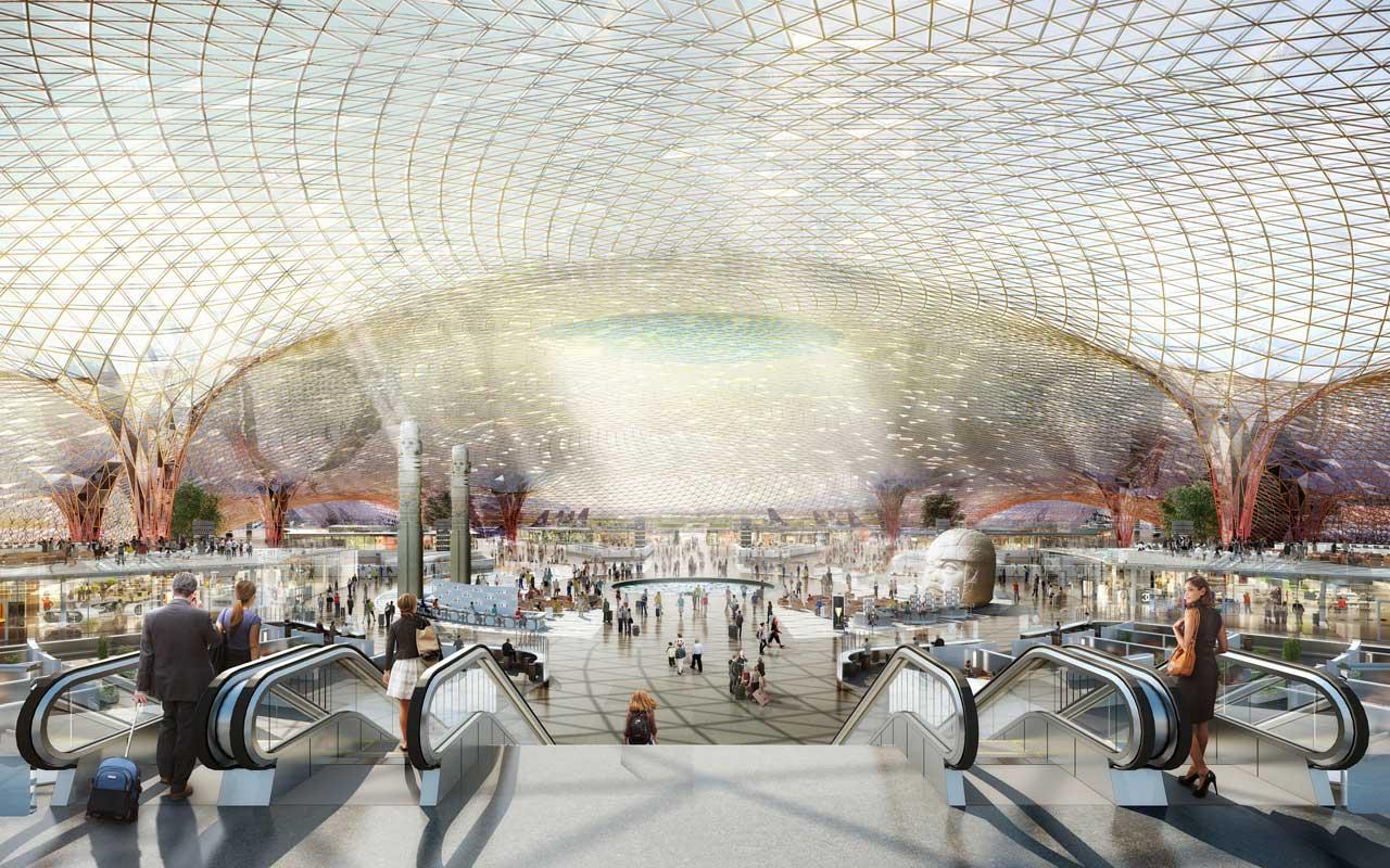 Fosterov novi aerodrom u Meksiku na 555 hiljada kvadrata