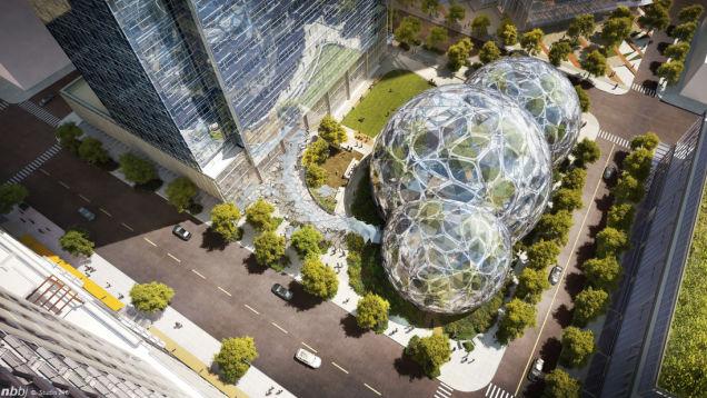 Amazon će toplotom iz računskog centra grejati svoje novo sedište