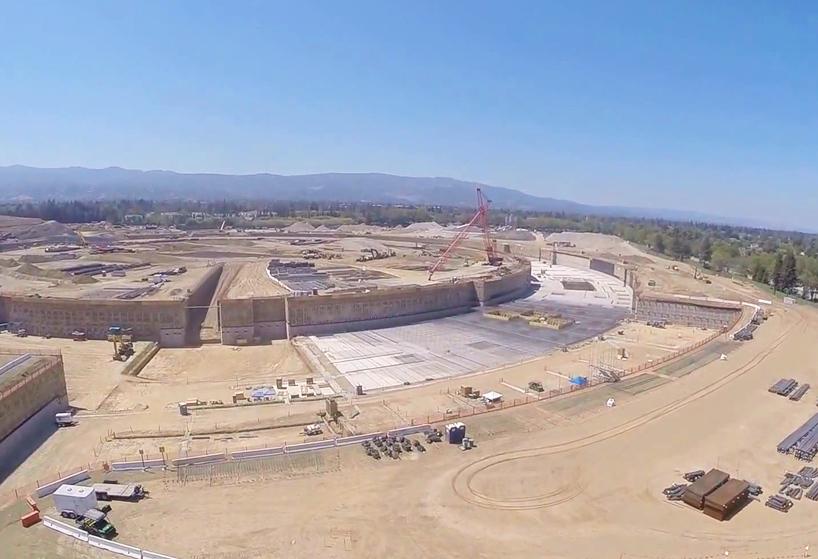 Gradilište Appleovog kampusa snimnjeno dronovima s GoPro kamerama