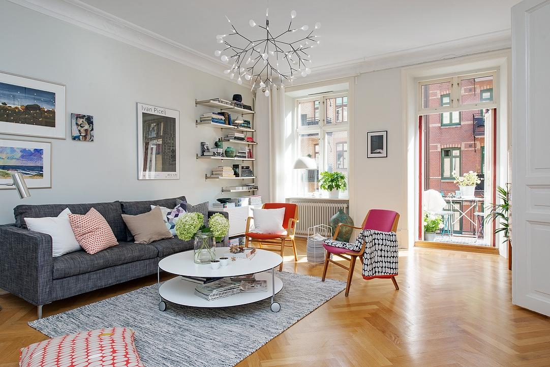 Bogat detaljima: Koloritni stan od 114 kvadrata