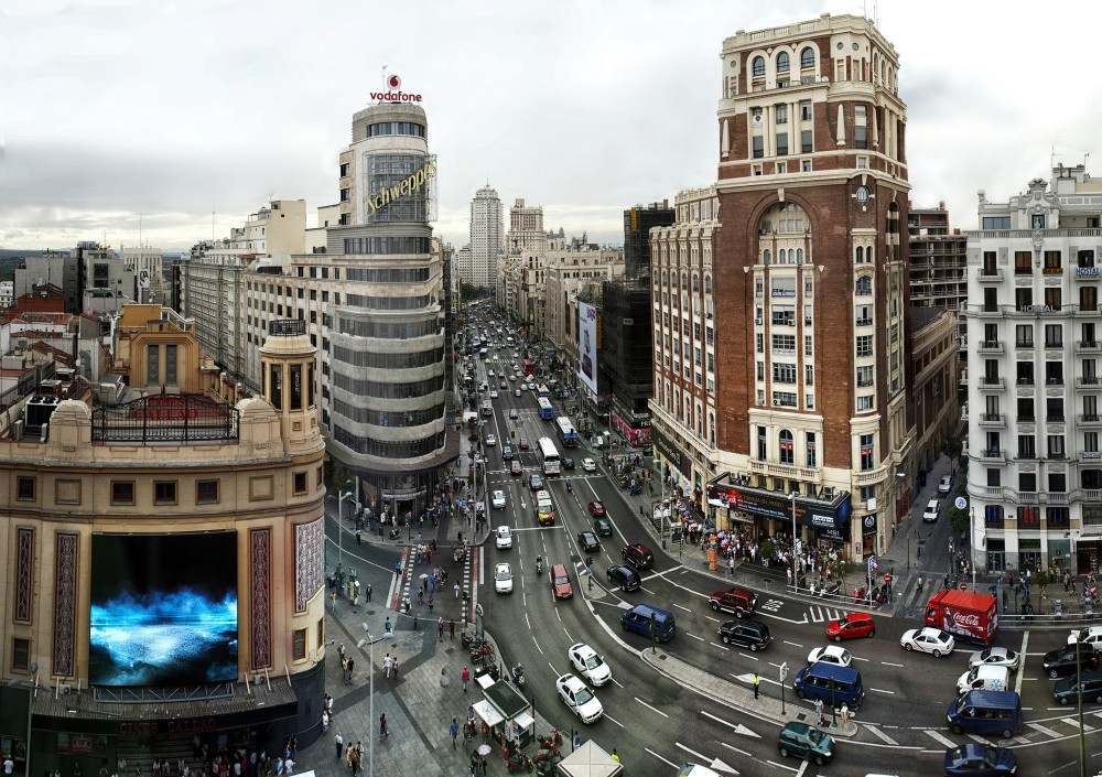 Centar Madrida bez automobila od januara 2015.