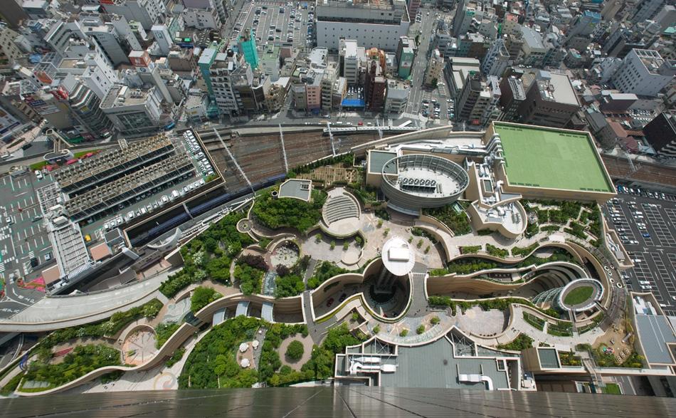 Šoping centar u Japanu s baštama na osam spratova