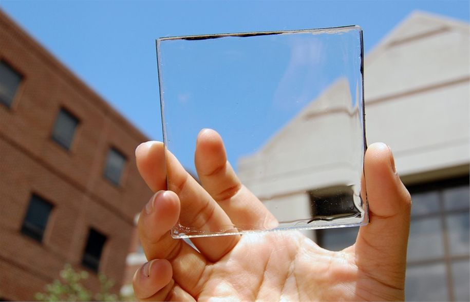 Providne solarne ćelije za prozore koji prave struju