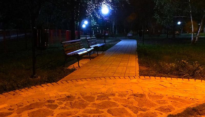 Kako su uređene staze i platoi u beočinskom parku