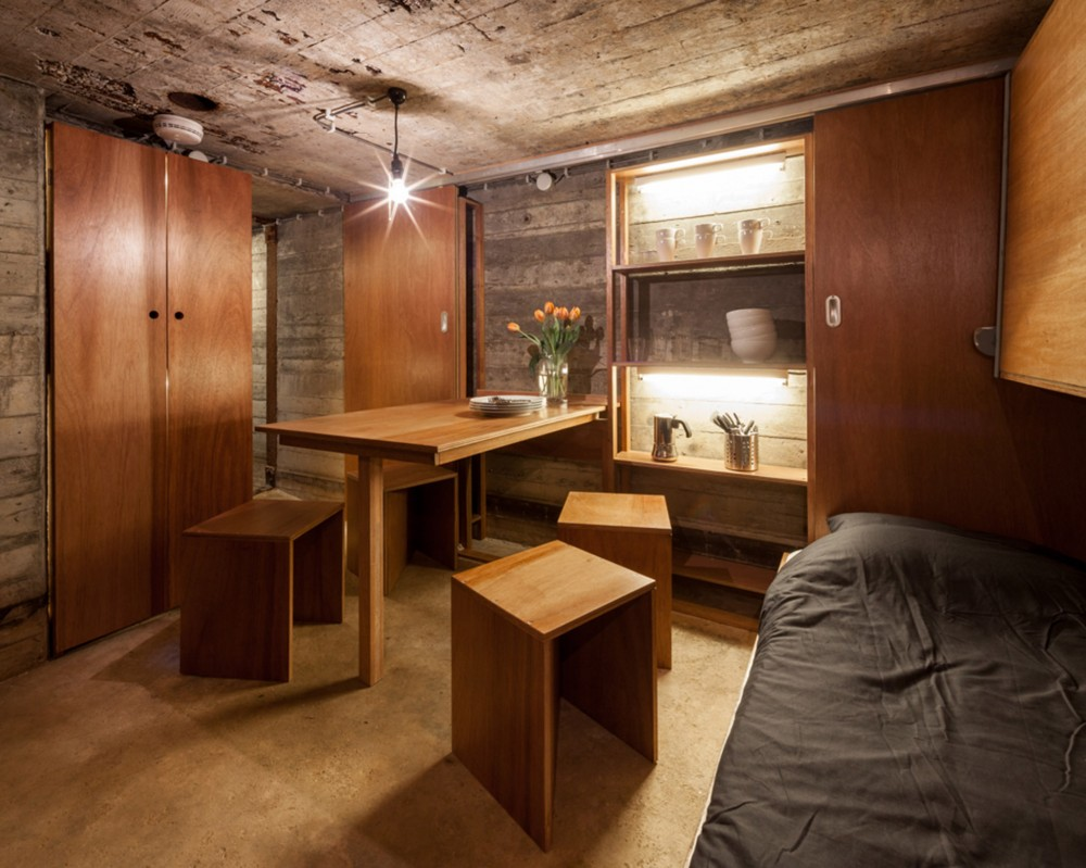 Bunker u Holandiji pretvoren u vikendicu
