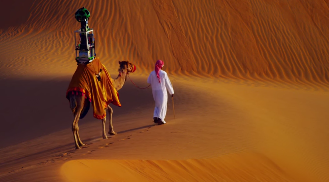 Kamere na kamilama: Google Street View i u pustinji