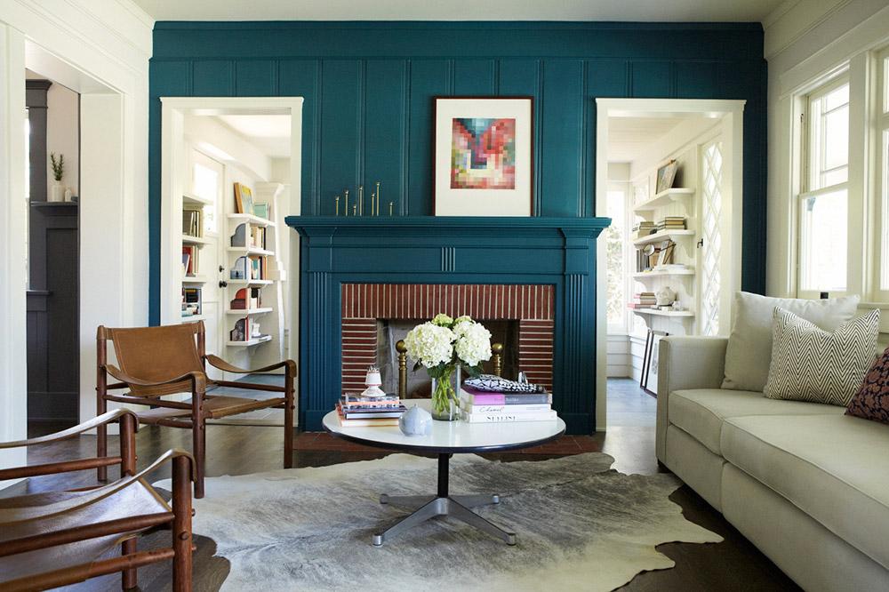 Kombinacija sezone: Indigo plava i siva boja