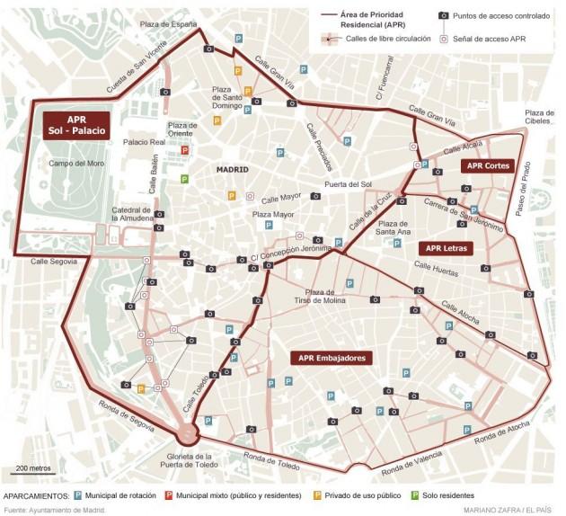 madrid-bez-kola-mapa