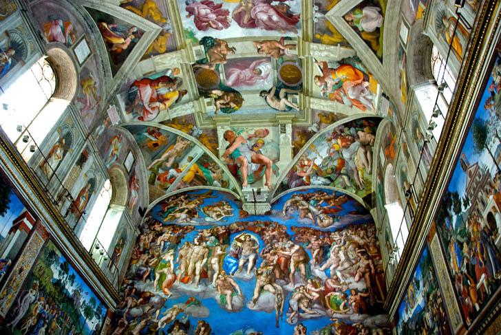 Sikstinska kapela predstavlja Mikelanđelovo remek-delo u novom svetlu