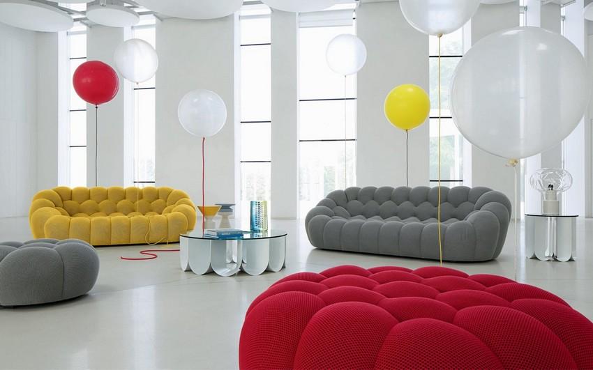 Dizajn Saše Lakića: Ručno pravljene sofe inspirisane balonima