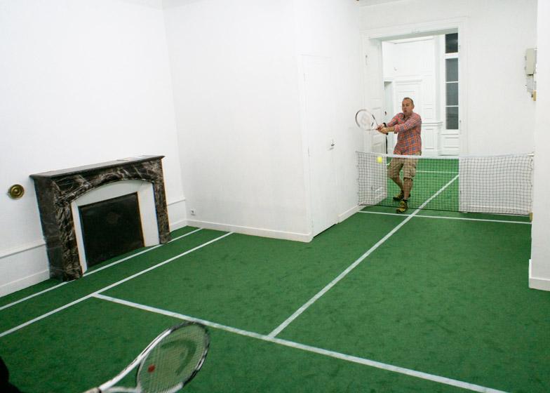 Smeč u dnevnoj sobi: Teniski teren u stanu?