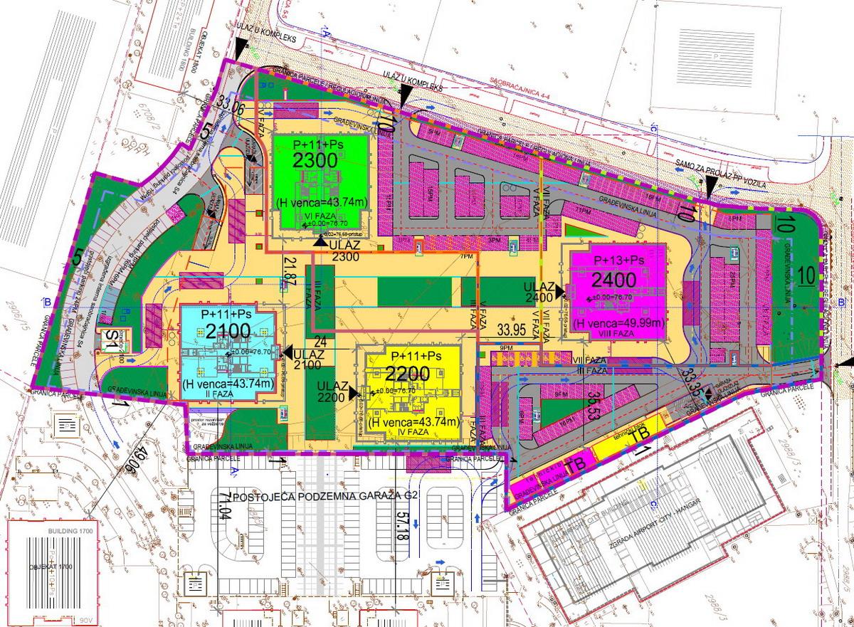 airport city beograd mapa Širi se Airport City: Poslovni prostor u četiri nova objekta airport city beograd mapa