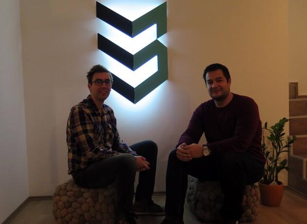 Danilo Mićić, osnivač studija Case 3D (desno) i Igor Conić, Gradnja.rs