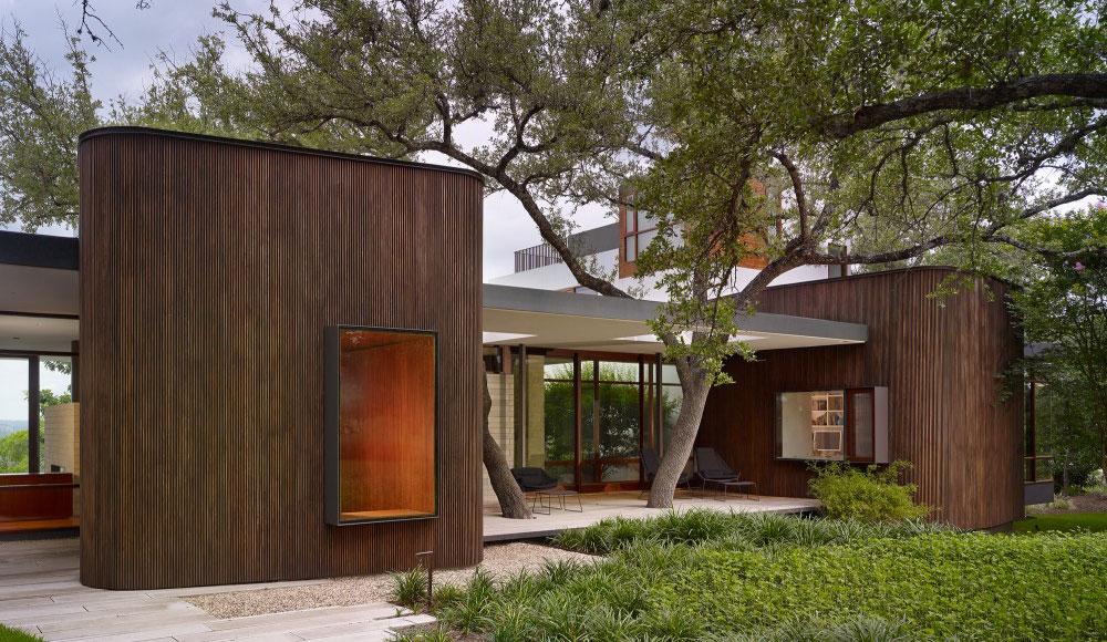 Simbioza prirode i arhitekture: Drvo kao sastavni deo objekta