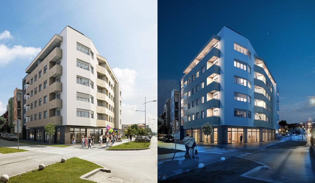 U Novom Sadu gradi se zgrada koja zarađuje recikliranjem otpada