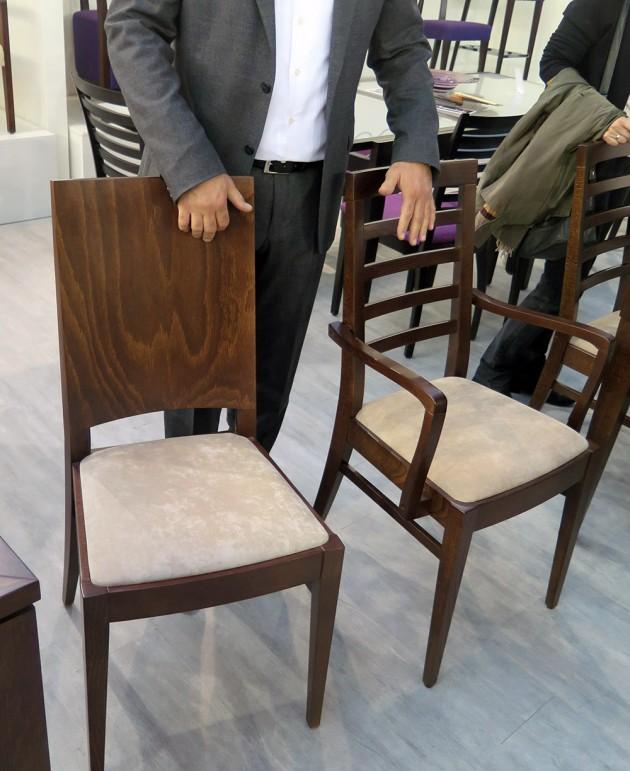 trpezarijska stolica Eurokancom novitet 2014