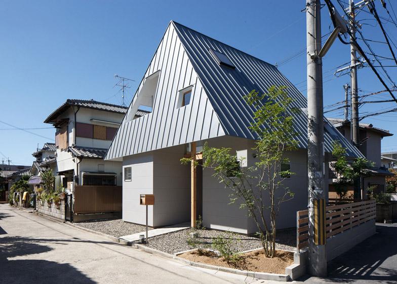 Za dobru intimu: Kuća s naglašenim četvorovodnim krovom