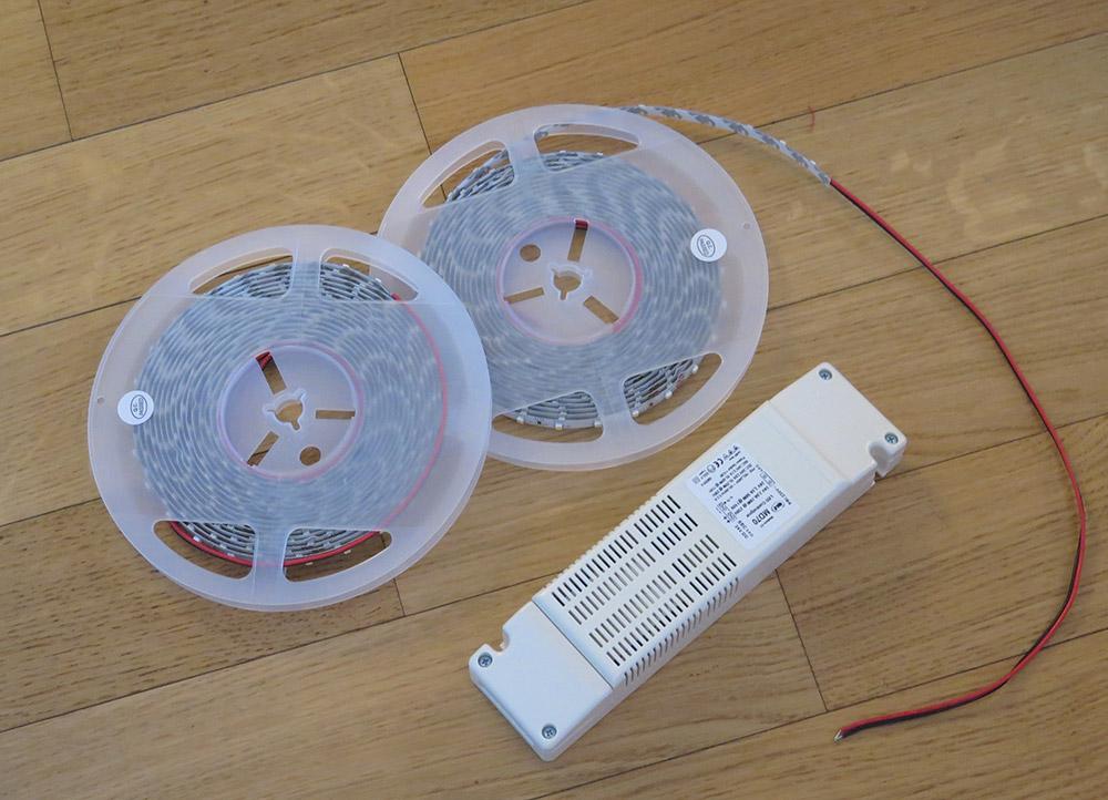 Uradi sam: Montaža LED trake u niši zida