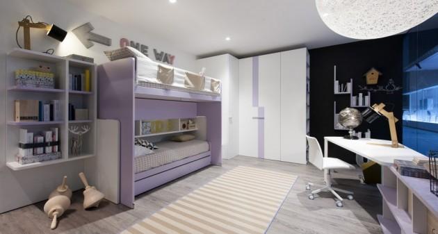 lila decija soba