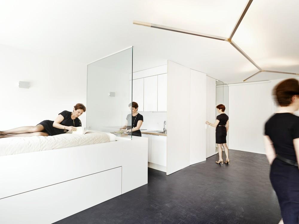 Kako organizovati život u svega 35 metara kvadratnih