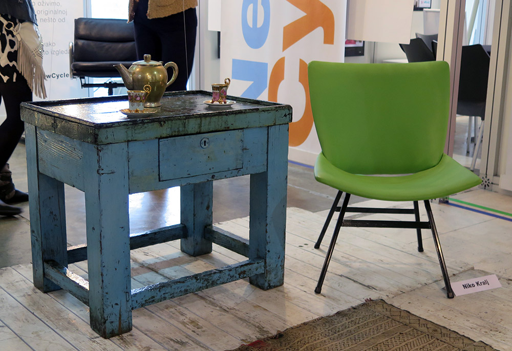 Sajam nameštaja 2014: Obnovljene fotelje čuvenih dizajnera