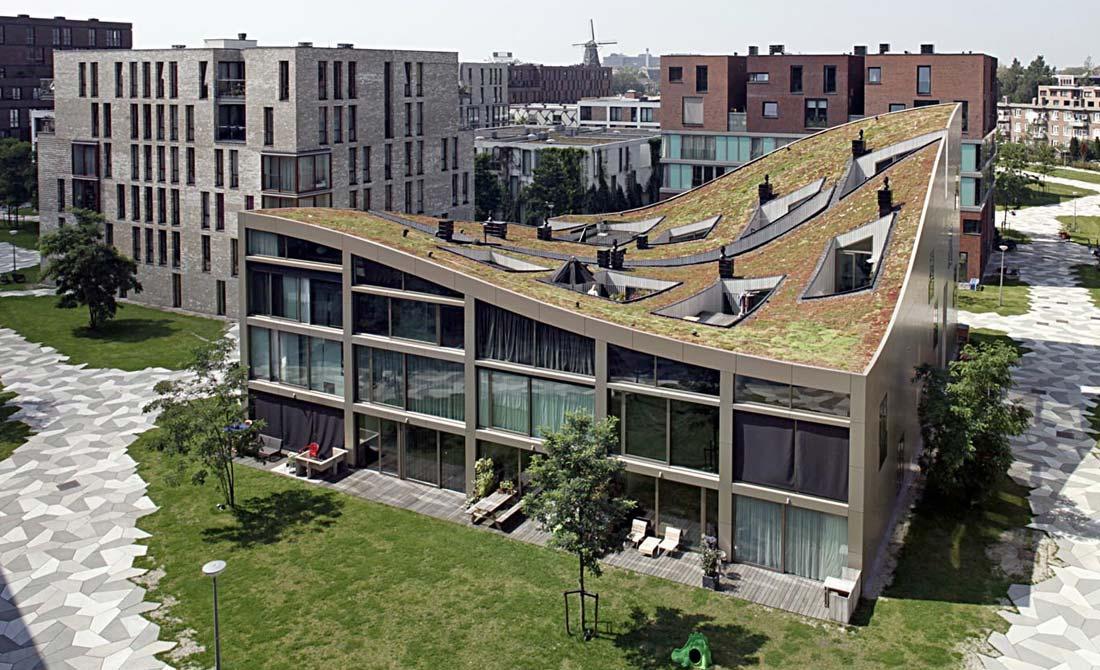 10 kuća pod jednim talasastim krovom