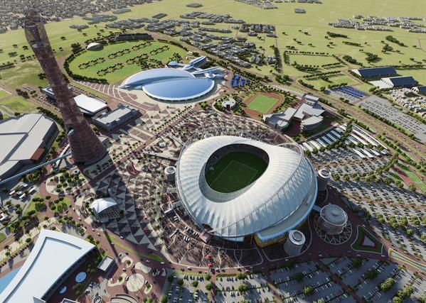 Fudbalsko grotlo u Kataru s prijatnom temperaturom na terenu
