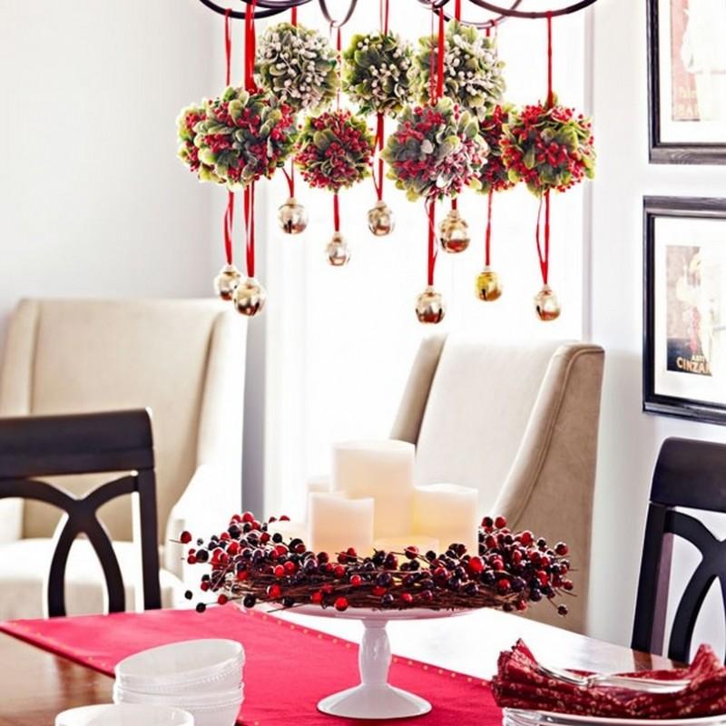 Holiday Home Design Ideas: Enterijer U Prazničnom Duhu: Novogodišnja Dekoracija Stola