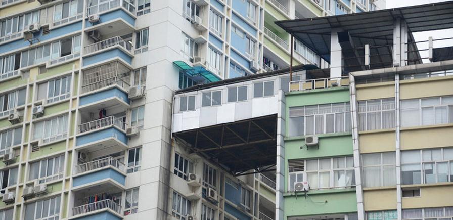 Neuobičajeno spajanje stanova: Klimava veza između dve kule
